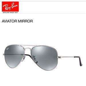 Ray Ban Aviator Mirror Sunglasses